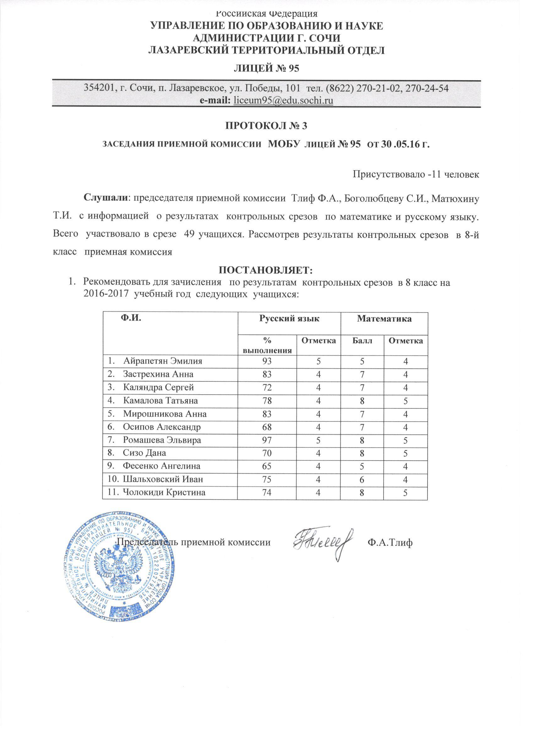 Протокол заседания конфликтной комиссии в доу образец — zamanbap. Kg.