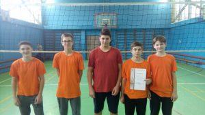 2-mesto-rajonnyj-etap-spartakiady-shkolnikov-po-volejbolu-yunoshi-7-8-klassov